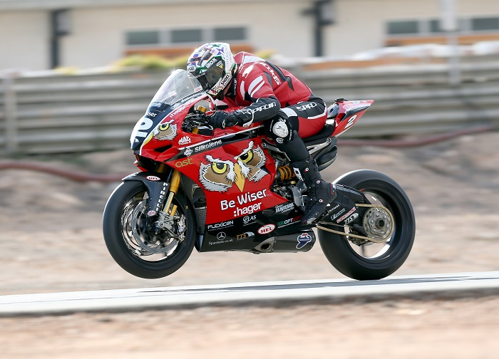 PACEMAKER, BELFAST, 2017: PBM/ Be Wiser Ducati's Glen Irwin who will race the Ducati superbike at the 2017 Vauxhall International North West 200. PICTURE BY STEPHEN DAVISON