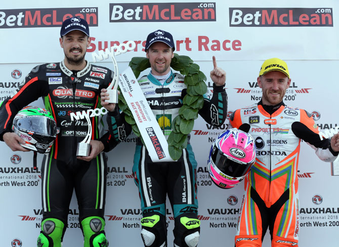 Thursday Race 1: Supersport 2018